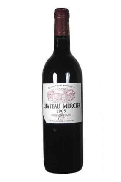03 400x600 - Chateau Mercier cotes de bourg tradition 2014