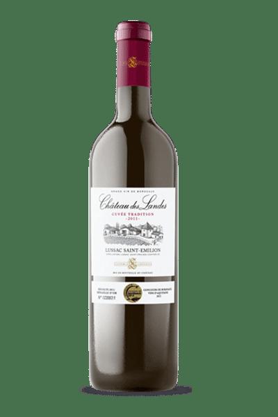 """03 - Château des Landes """"Lussac"""" Saint-Emilion Prestige 2014"""
