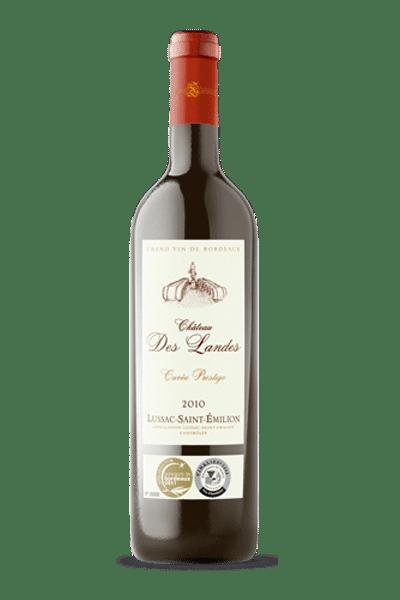 """03B 400x600 - Château des Landes """"Lussac"""" Saint-Emilion Prestige 2014"""
